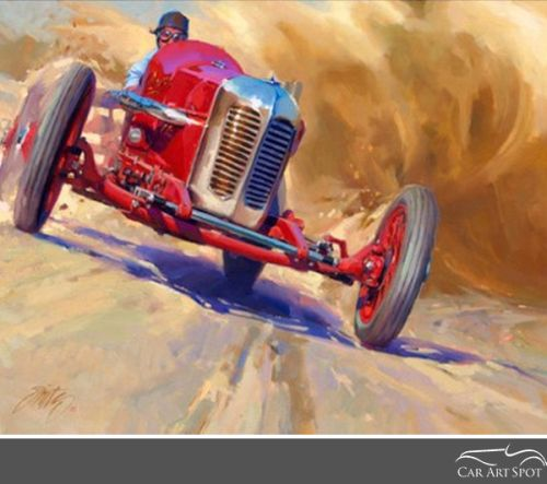 Automotive Car Art by Tom Fritz