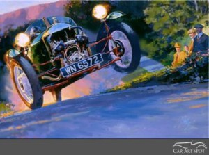 Automotive Art by Tom Fritz