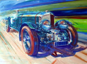 Automotive Art 4 .5 liter Supercharged by Andrew McGeachy