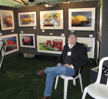 Roger Blanchard Automotive Artist