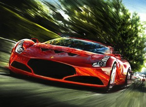 Ferrari 612 GTO by Automotive Artist Andrea Del Pesco