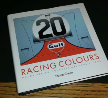 Racing Colours Motor Racing Compositions 1908-2009 Book Review by Marcel Haan of CarArtSpot