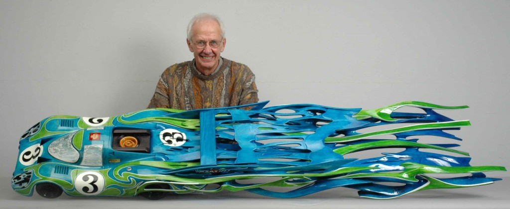 The Porsche 917 sculpture by Dennis Hoyt