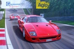 Ferrari F40 by Automotive Artist Andrew Kitson