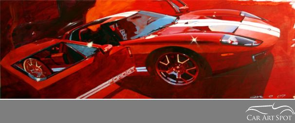 Automotive Art by Camilo Pardo