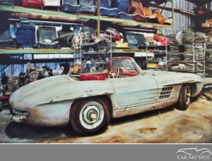 300 SL by David Coax