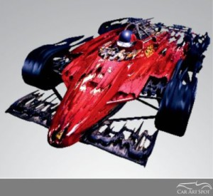 Automotive Sculptures by Dennis Hoyt
