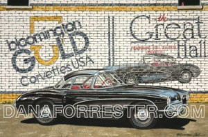 Car Art by Automotive Artist Dana Forrester