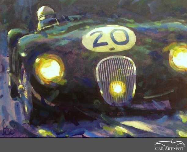 Rob Ijbema Car A Day Automotive Artist