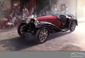 Automotive Art by Don Packwood