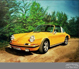 Porsche Art by David Coax