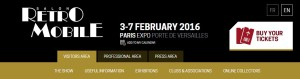 Retromobile Expo in Paris