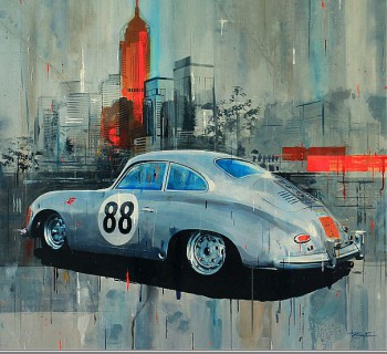 356 Porsche by Tony Crampton