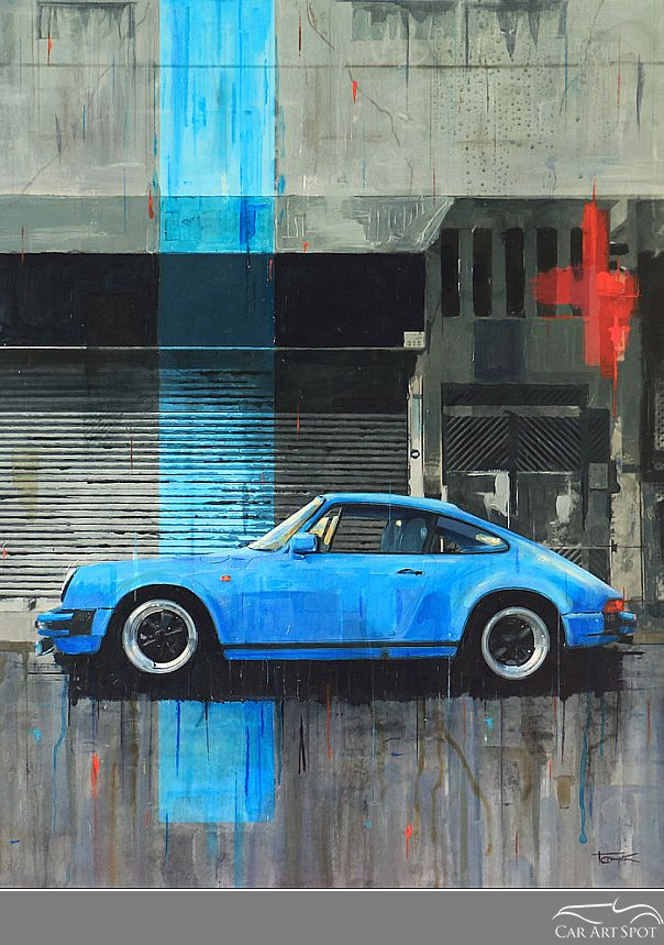 911sc Porsche by Tony Crampton