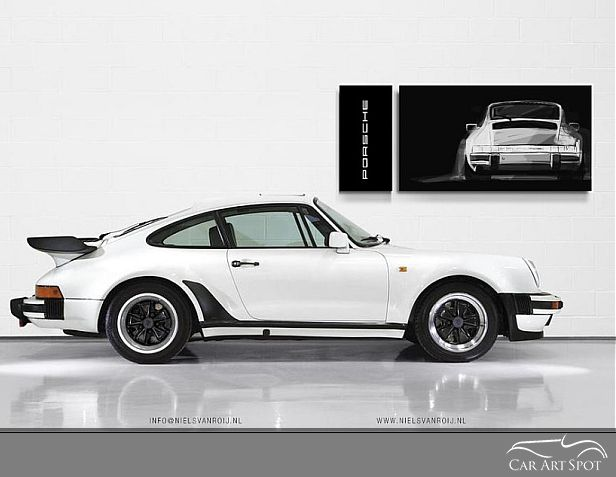 Porsche 911 by Niels van Roij Automotive Artist and Designer