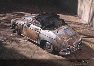 Porsche 356 by Martin Heukeshoven top closed
