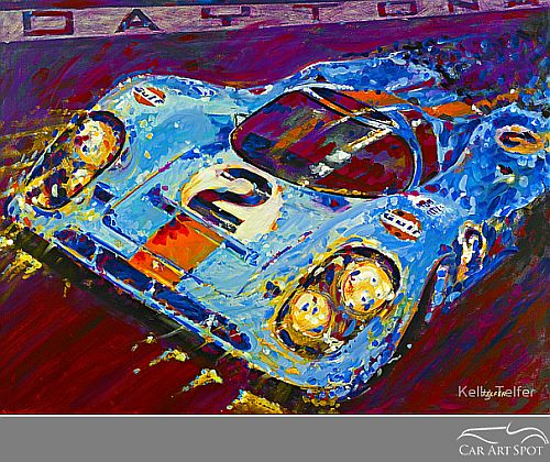 Porsche 917 by Kelly Telfer