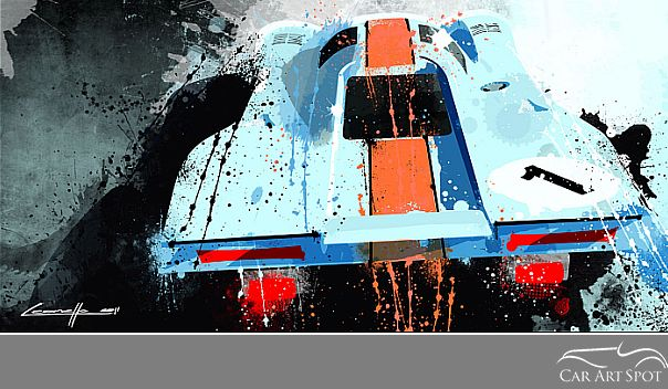 Porsche 917 by Michele Leonello