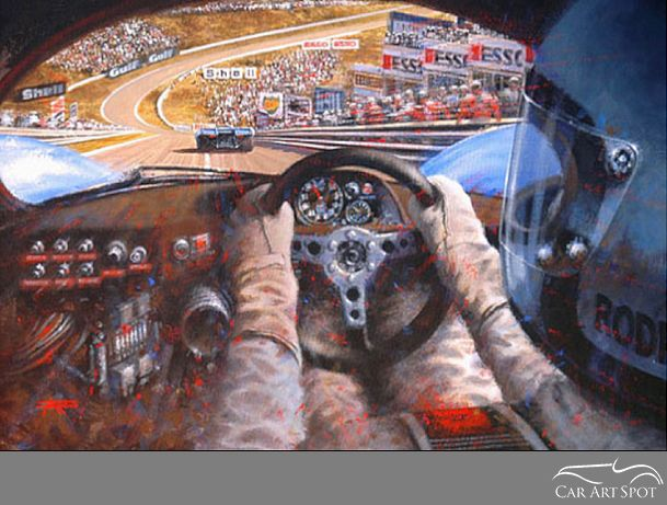 A view from the 917 cockpit by Juan Carlos Ferrigno