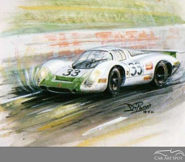Automotive Artist David Purvis