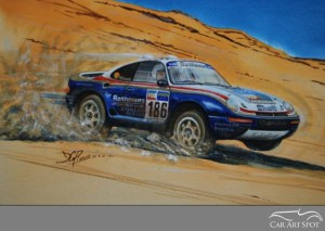David Purvis Automotive Art