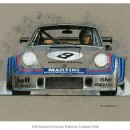 Porsche Car Art by Paul Chenard