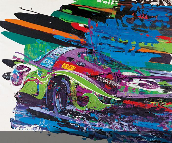 Porsche 917 painting by Uli Hack