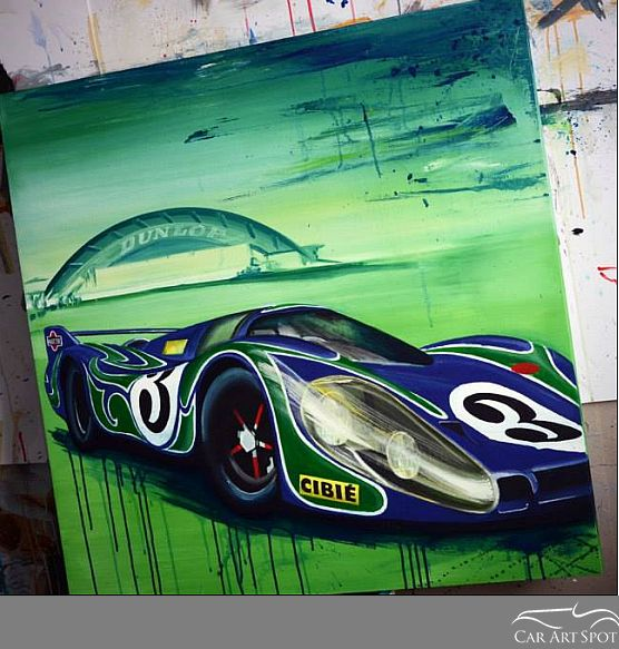 Interpretation of the Porsche 917 by Tom Havlasek