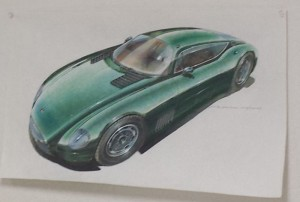 Close up Sketch MOAL Coachbuilders