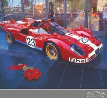 Ferrari 512s by Nicola Wood