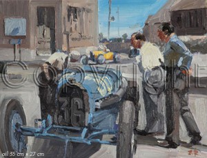 Automotive Artist Stanley Rose