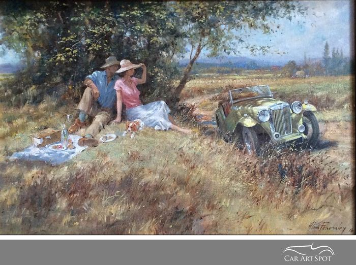 Summer of '49 by Alan Fearnley
