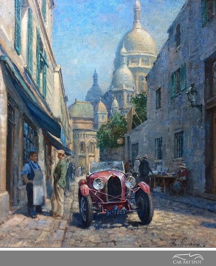 Sacre Coer by Alan Fearnley