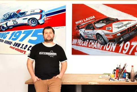 Daniel Šenkeřík Automotive Artist