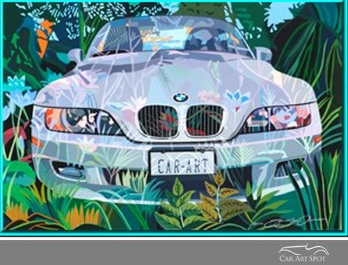 Sue Steele Thomas Automotive Artist