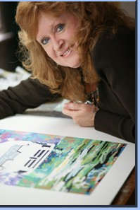 Automotive Artist Sue Steele Thomas