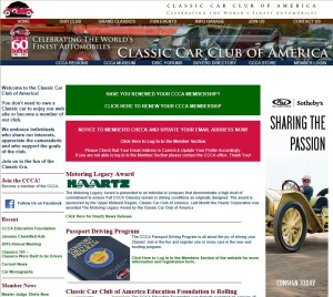 "Classic Car Club of America Museum's ""The Experience"""