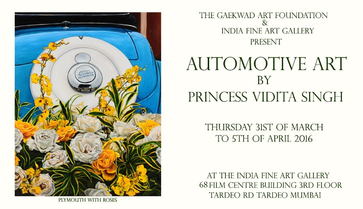 Princess Vidita Singh Exhibits in Mumbai