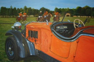 Lancia at the polo match by Princess Vidita Singh
