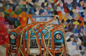 Chevy Mosaic by Princess Vidita Singh