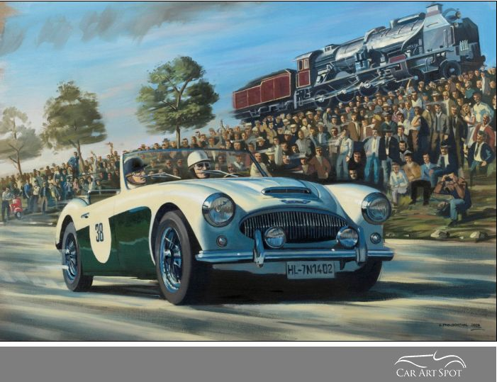 Mille Miglia by Benjamin Freudenthal