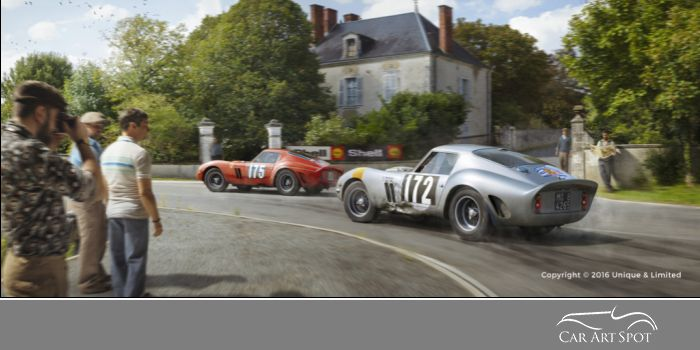 Ferrari 250 GTO Collection by Unique & Limited