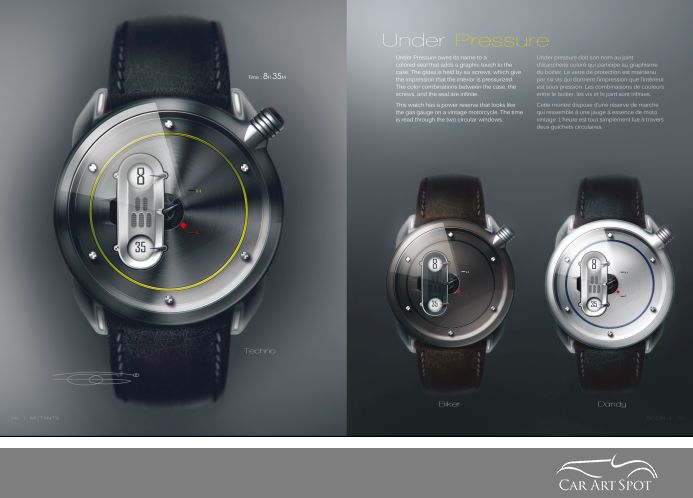 Watch Designs by Olivier Gamiette
