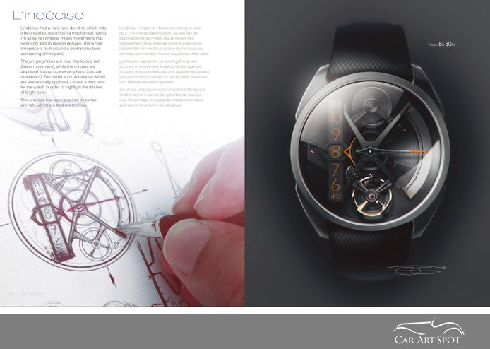 Watch Design by Olivier Gamiette