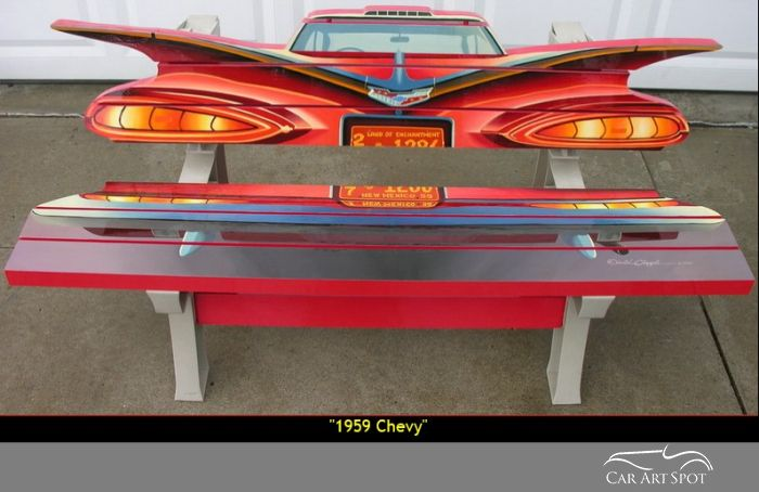 1959 Chevy Custom Bench by David Chapple