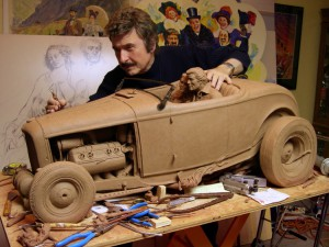 Stanley Wanlass Automotive Artist & Sculptor