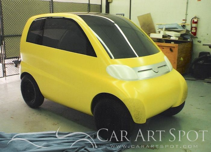 Alberto Hernandez Smart Prototype car design