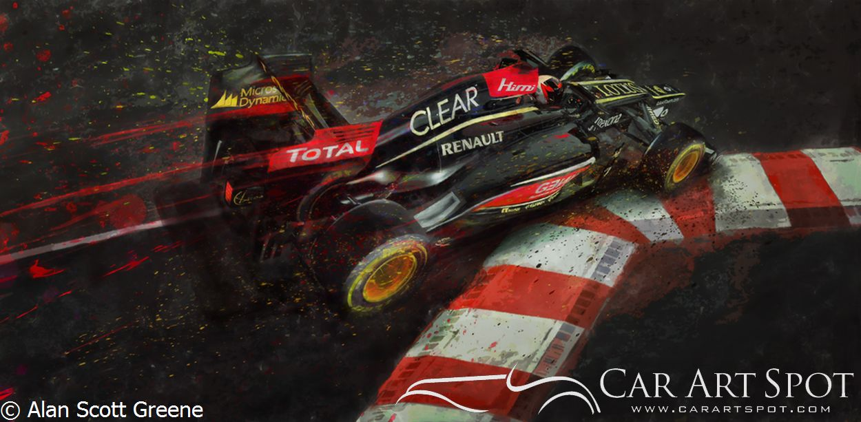 Alan Scott Greene - Apex automotive art