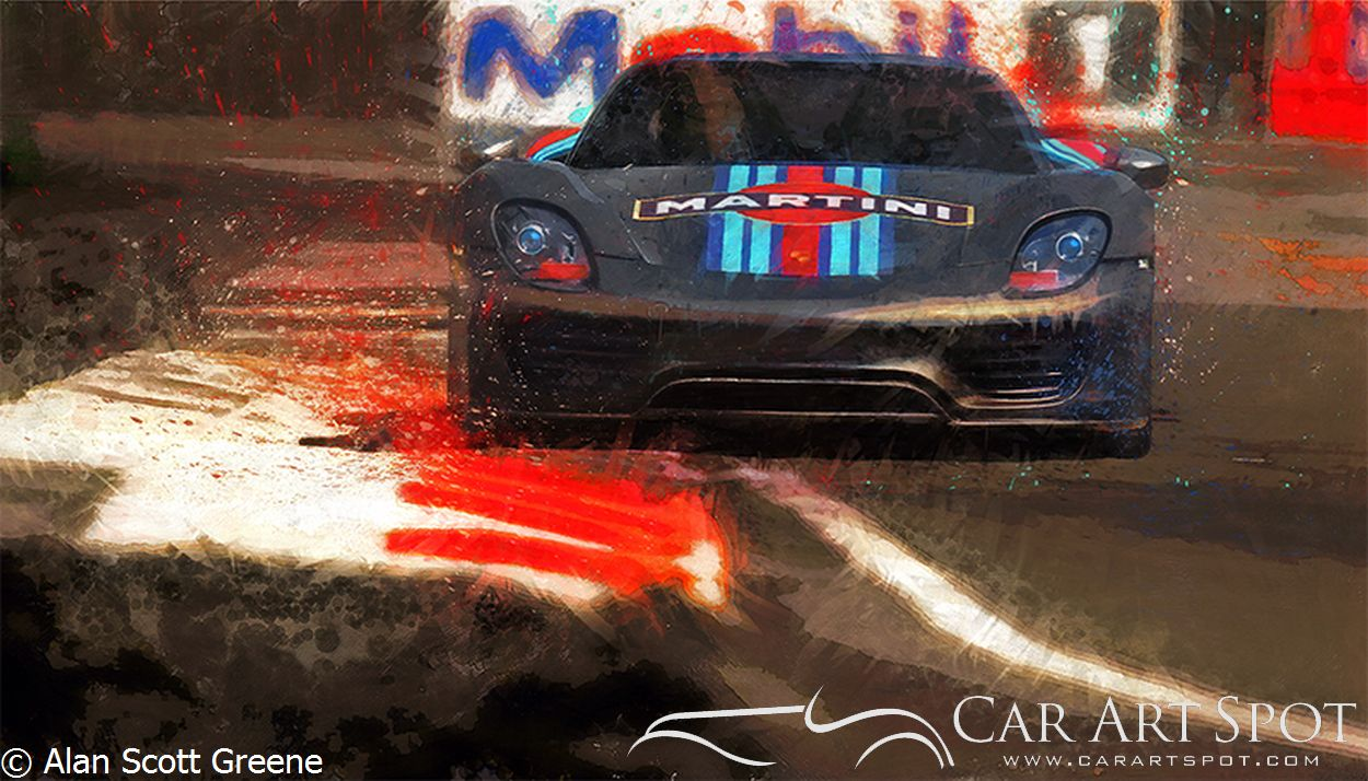 Alan Scott Greene - Unleashed Automotive art