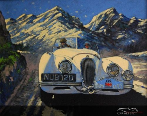 Automotive Art by AFAS Artist Barry Rowe